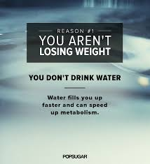Water helps in weight loss by more ways than one!