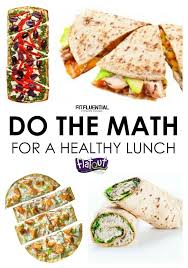 Calculate the calories in your lunch